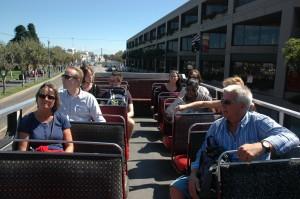To dage i byen med det samme bus selskab, med mange pussige chaufører